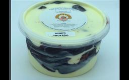 Pote de sorvete 1 litro sabor ninho trufado