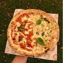Pizza Due Stagione Affamato