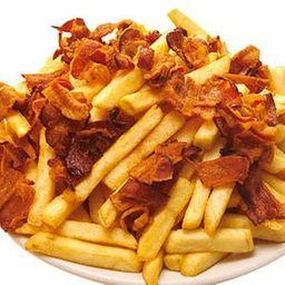 Batata Frita com Bacon