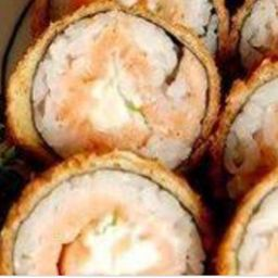 Hot Roll Salmão 10 Pç