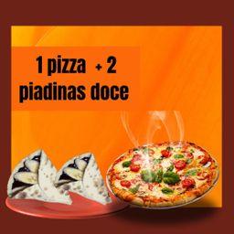 Pizza com Sobremesa