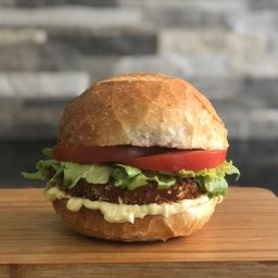 Hambúrguer de Frango Crispy