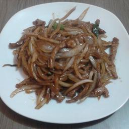 Carne com cebola - 600g