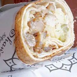 Shawarma de Frango Filé de Sobrecoxa