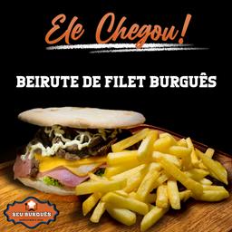 Beirute de Filet Burguês