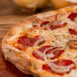 Pizza de Pepperone - Grande