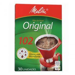 Filtro de Café Melitta 102 - 30 Unidades