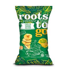 Roots to go Banana Salgada 45g