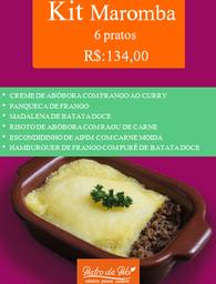 Kit Maromba 6 pratos