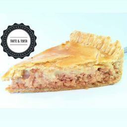 Fatia Torta de Peito de Peru com Cream C