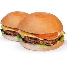 2 Black Burguers Salada