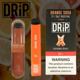 Pod Descartável Drip Bar Orange Soda