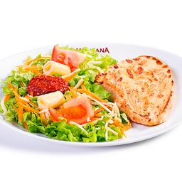 Filé de Frango com Salada Completa