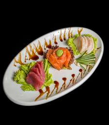 Sashimi de Salmão - 8 Peças