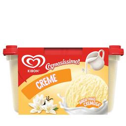 Sorvete Kibon Cremosissimo Creme - 1.5L