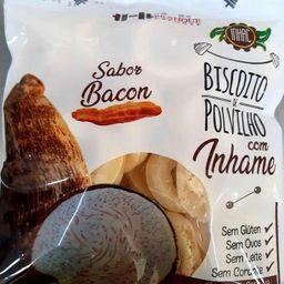 Polvilho de Inhame Sabor Bacon - 50 Gramas
