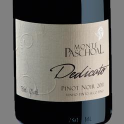 Vinho m. paschoal pinot noir dedicato 2014 - 750ml