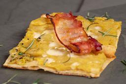 Pizza De Batata E Bacon