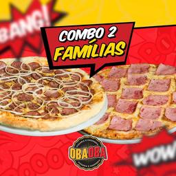 Combo 2 Pizzas Família 35cm