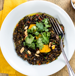 Arroz Negro do Sul (Vegano)