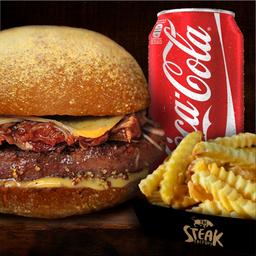 Combo The Steak Factor Burger