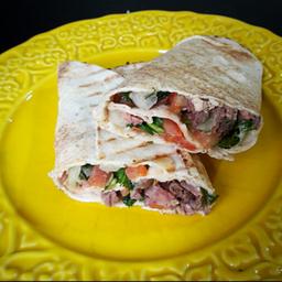 Shawarma de Alcatra grelhada