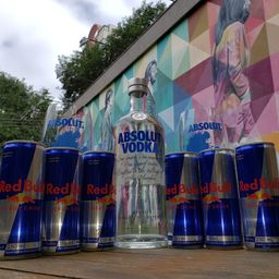 Combo Absolut com Red Bull