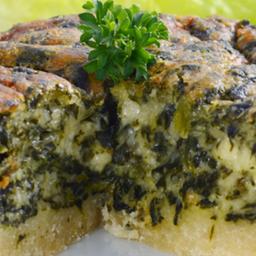 Quiche de espinafre e queijo congelado - 600g