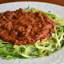 Espaguete low carb