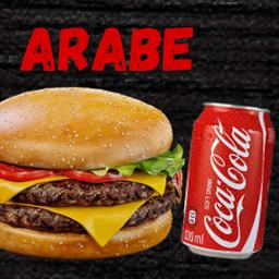 Hambúrguer de Árabe Completo
