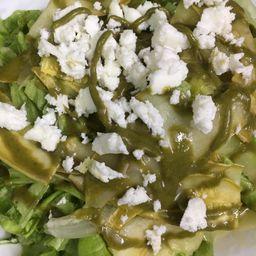 Salada de Abobrinha Marinada e Búfala
