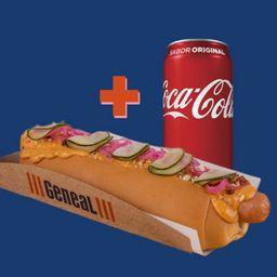 Hot Dog Especial com Refrigerante 350 ml