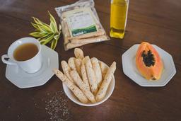 Biscoito de Polvilho com Azeite e Chia