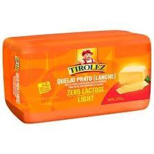 Queijo Prato sem Lactose Tirolez - 100g