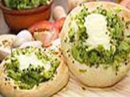 Esfiha de Brócolis com Queijo