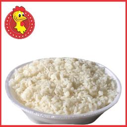 01 porção de arroz branco