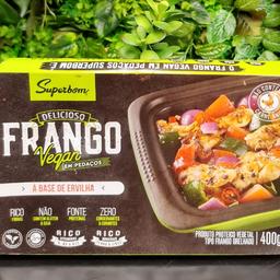 """""""Frango"""" Vegano Superbom - 400g"""