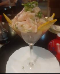 463 - Ceviche de Peixe Branco