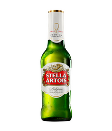 Cerveja long neck Stella Artois