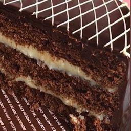 Bolo de Chocolate com Coco - 100g