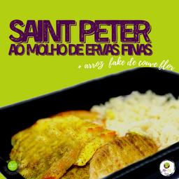 S. Peter, Molho de Ervas Fina (150g)+arroz de Couve-flor (100g)