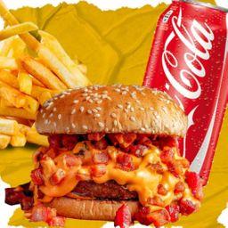 Combo Casal Burger, French Fries e Refri