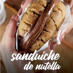 Cookie Mix de Castanhas com Nutella