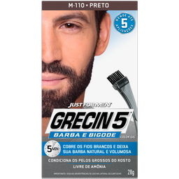 Grecin 5 Color Gel Coe Preto Tin-Ca Fr X 120Ml X03K1