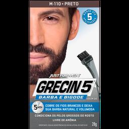 Grecin 5 Color Gel Coe Preto Tin-Ca Fr X 120Ml X03K1