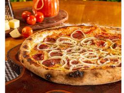 Pizza de Calabresa Artesanal - Grande