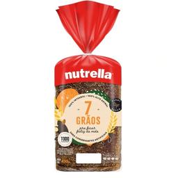 Pão Integral 7 Grãos Nutrella - 400g