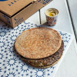 Sanduiche de Kafta com Homus
