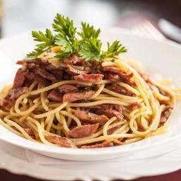 Spaguetti a Calabresa
