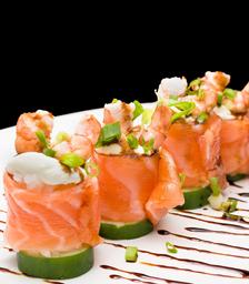 Sushi especial ebi joe - 4 Peças